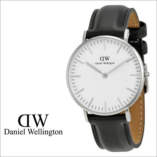ダニエルウェリントン Daniel Wellington 36mm 腕時計 レディース CLASSIC SHEFFIELD LADY シルバ...