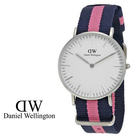 ダニエルウェリントン Daniel Wellington 36mm 腕時計 レディース CLASSIC WINCHESTER LADY シルバー