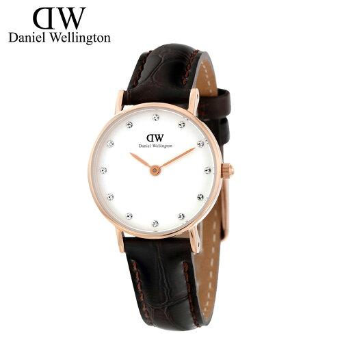 ダニエルウェリントン Daniel Wellington 26mm 腕時計 レディース CLASSY YORK ローズゴールド [S2...