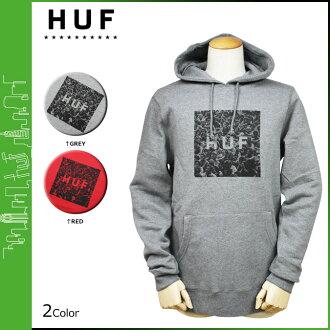 點 15 x HUF Hough 套衫連帽外套男式連帽衫新 2 顏色伍德斯托克框徽標套衫帽衫