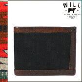 [最大2000円OFFクーポン] ウィルレザーグッズ WILL LEATHER GOODS レザー 二つ折り 財布 20885 ブラック ブラウン ETHAN BILLFOLRD メンズ [S50]