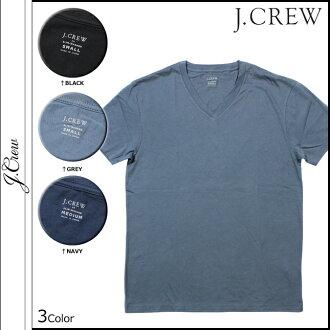 10 點 j.crew J.Crew 短袖 T 恤 t 恤衫男裝 V 脖子總: 40,993 3 色廠苗條洗 v 領 TEE