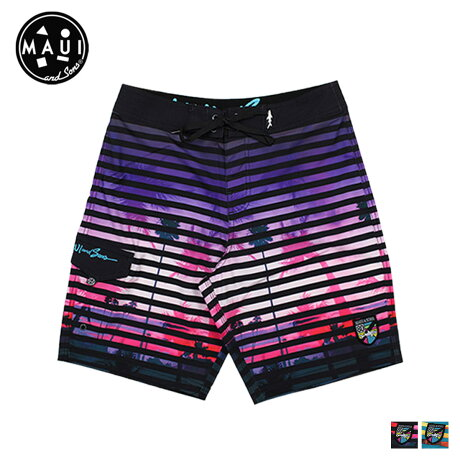 マウイアンドサンズ Maui and Sons 水着 サーフパンツ スイムパンツ 2カラー NIGHT LIFE メンズ