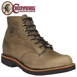 Chippewa CHIPPEWA work boots 20067 6INCH LODEO LACE UP STEEL TOE D wise EE wise leather men's