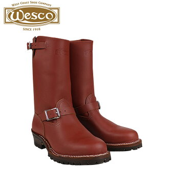 Wesco WESCO 11 inch the boss RW7700100 11INCH THE BOSS STEEL TOE E wise leather mens Wesco Engineer Boots