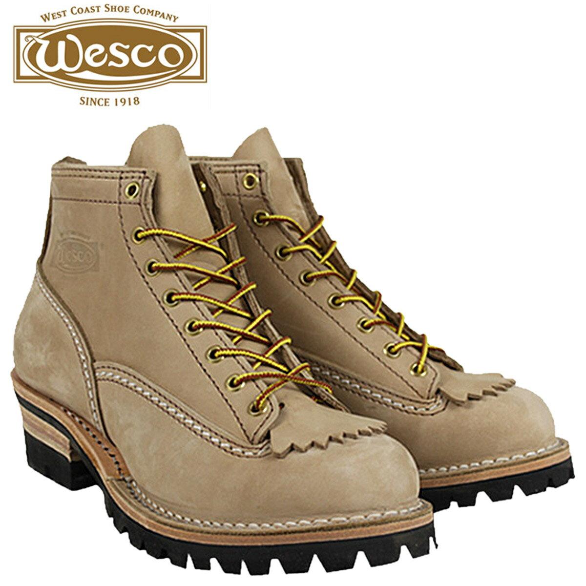 ウエスコ ジョブマスター WESCO ブーツ 6インチ バーラップ  6INCH JOB MASTER Eワイズ ヌバック  BE106100 ウェスコ  メンズ:スニークオンラインショップ