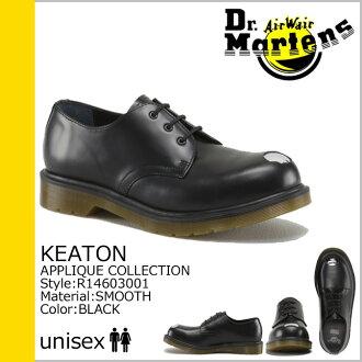 Dr. Martens Dr.Martens 3 Hall shoes R14603001 KEATON STEEL TOE leather men women