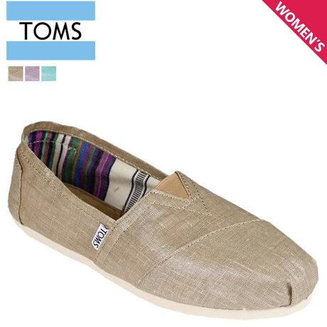 TOMS レディース トムス シューズ スリッポン TOMS SHOES トムズ WOMEN'S CLASSICS トムズシューズ