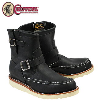 Chippewa CHIPPEWA 7 inch Highlander Engineer Boots [Black] 1901M07 7INCH HIGHLANDER E wise leather men's ENGINEER [genuine]