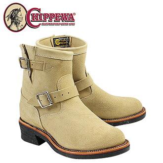 Chippewa CHIPPEWA 7-inch plain to engineer boots 1901M13 7INCH PLAIN TOE ENGINEER E wise suede men's suede