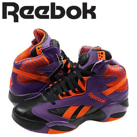 リーボック シャック スニーカー Reebok SHAQ ATTAQ PHOENIX SUNS メンズ V61029 靴 パープル