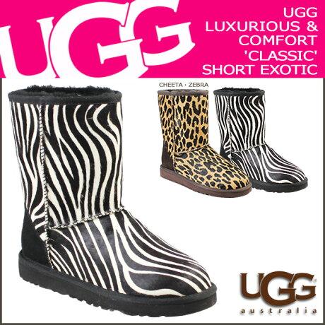 UGG アグ ムートンブーツ クラシック ショート WOMENS CLASSIC SHORT EXOTIC 1002790 シープスキン レディース