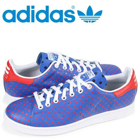 アディダス オリジナルス スタンスミス adidas Originals スニーカー ファレルウィリアムス PW STAN SMITH SPD メンズ コラボ B25400 ブルー