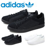 adidasアディダススタンスミススニーカーSTANSMITHPRIMEKNITBBS80065メンズ靴ホワイトブラック