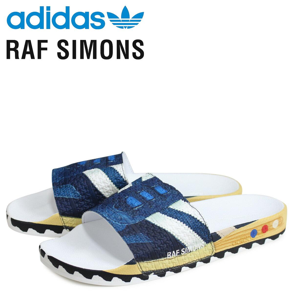 サンダル, コンフォートサンダル  adidas Originals RAF SIMONS LA RS LA ADILETTE EE7956