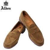 ALDEN オールデン ローファ メンズ シューズ HANDSEWN FLEX PENNY LOAFER WITH UNLINED VAMP Dワイズ 6243F