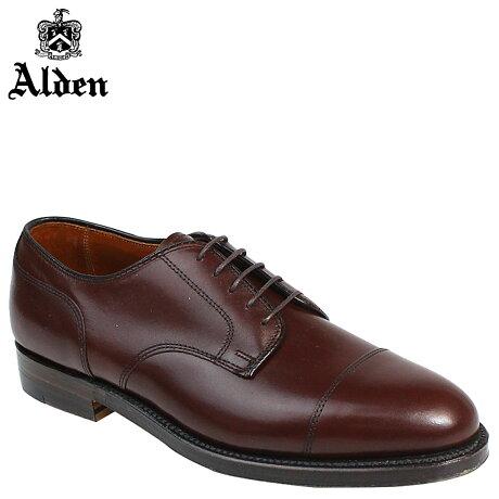 ALDEN オールデン ローファー シューズ メンズ STRAIGHT TIP BLUCHER Dワイズ 972