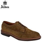 ALDEN オールデン ウイングチップ シューズ メンズ LONG WING BLUCHER Dワイズ 9794