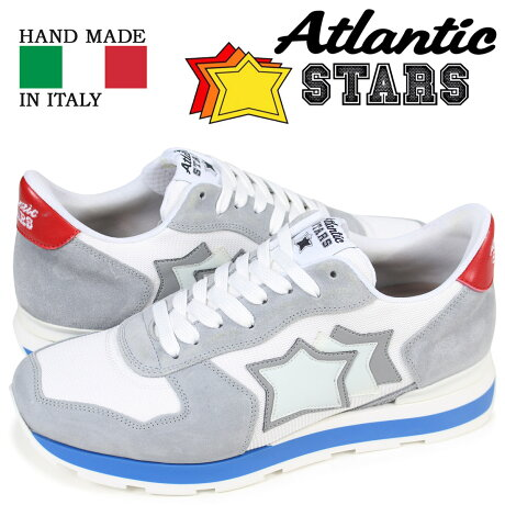 アトランティックスターズ メンズ スニーカー Atlantic STARS アンタレス ANTARES BAB-34B ライトグレー [予約商品 3/27頃入荷予定 再入荷]