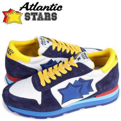 アトランティックスターズ メンズ スニーカー Atlantic STARS シリウス SIRIUS BBG 58R ホワイト