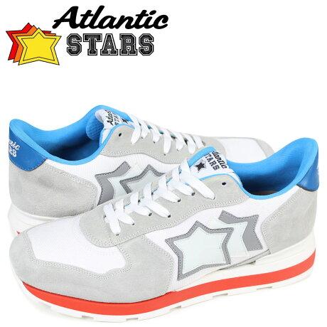 アトランティックスターズ メンズ スニーカー Atlantic STARS アンタレス ANTARES BBI-35B ライトグレー [予約商品 3/29頃入荷予定 再入荷]