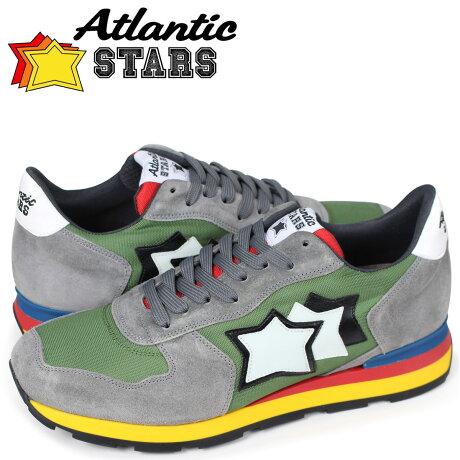 アトランティックスターズ メンズ スニーカー Atlantic STARS アンタレス ANTARES CI-89A カーキ [7/13 追加入荷]