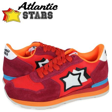 アトランティックスターズ スニーカー レディース Atlantic STARS ベガ VEGA FRA-85C レッド [予約商品 3/29頃入荷予定 再入荷]