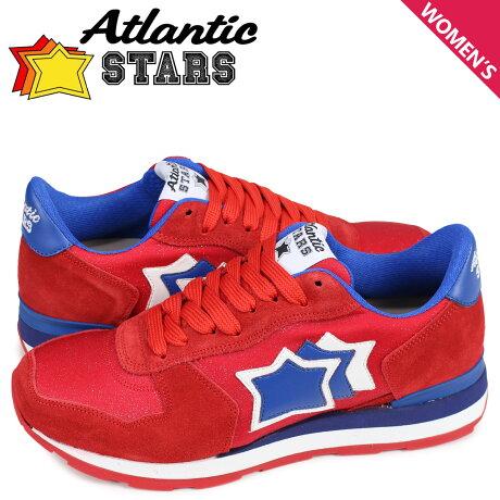 アトランティックスターズ Atlantic STARS ベガ スニーカー レディース VEGA レッド FUR-19A [予約商品 4/5頃入荷予定 新入荷]