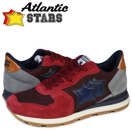 アトランティックスターズ メンズ スニーカー Atlantic STARS アンタレス ANTARES GGB-21NY バーガンディー