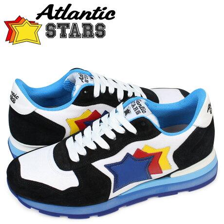 アトランティックスターズ メンズ スニーカー Atlantic STARS アンタレス ANTARES NBC 58B ブラック ホワイト