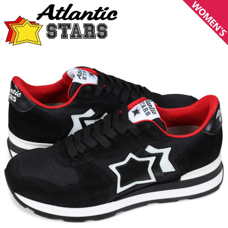 アトランティックスターズ Atlantic STARS ベガ スニーカー レディース VEGA NNR-10B ブラック