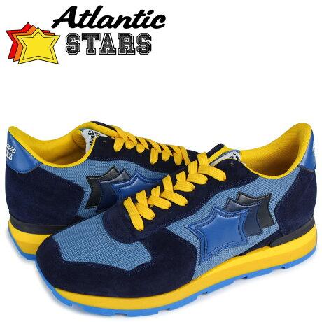アトランティックスターズ メンズ スニーカー Atlantic STARS アンタレス ANTARES WAG-23NY ブルー