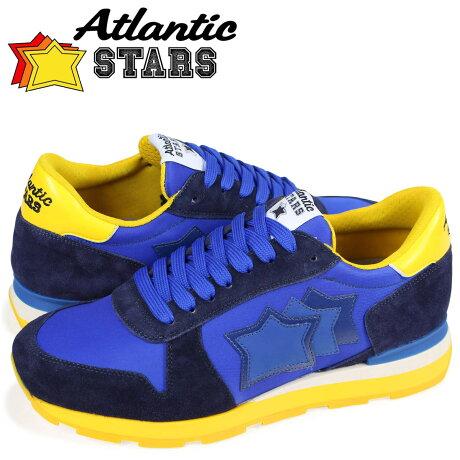 アトランティックスターズ メンズ スニーカー Atlantic STARS シリウス SIRIUS WB-66A ブルー