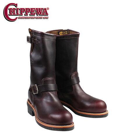チペワ CHIPPEWA エンジニア ブーツ 11インチ 11 INCH STEEL TOE ENGINEER スティールトゥ エンジニア ブーツ 1901M04 Eワイズ コードバン メンズ