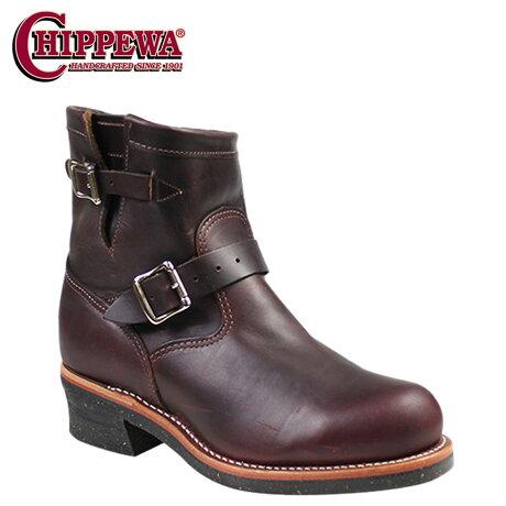 チペワ CHIPPEWA エンジニア ブーツ 7インチ 7 INCH STEEL TOE ENGINEER スティールトゥ エンジニア ブーツ 1901M11 Eワイズ コードバン メンズ