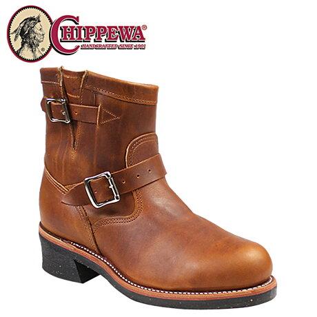 チペワ CHIPPEWA エンジニア ブーツ 7インチ 7 INCH STEEL TOE ENGINEER スティールトゥ エンジニア ブーツ 1901M12 Eワイズ タン メンズ