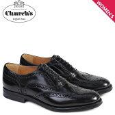 チャーチ 靴 レディース Churchs バーウッド シューズ ウイングチップ Burwood WG Polish Binder Calf 8705 DE0001 ブラック [6/21 新入荷]