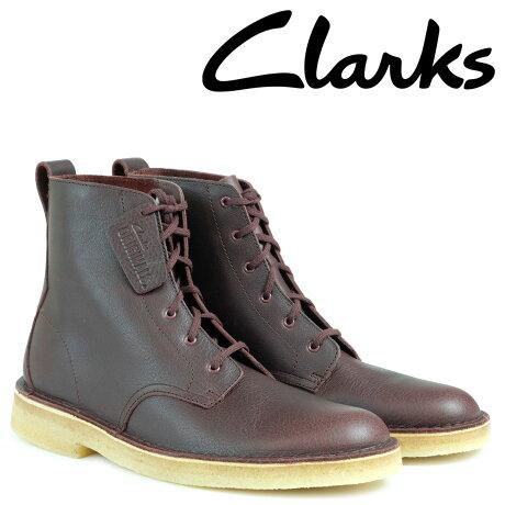 クラークス デザート ブーツ メンズ Clarks DESERT MALI マリ 26126186 靴 バーガンディー