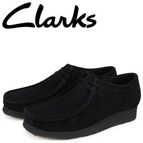 クラークス Clarks ワラビー ブーツ メンズ レディース WALLABEE スエード ブラック 26133279 [予約商品 2/22頃入荷予定 新入荷]