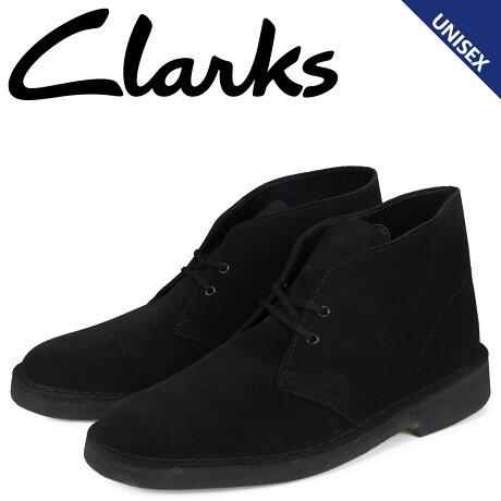 クラークス Clarks デザート ブーツ メンズ レディース DESERT BOOT スエード ブラック 26138227 [予約商品 2/22頃入荷予定 新入荷]