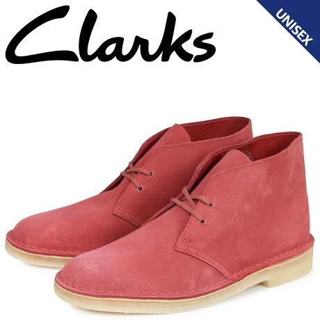 クラークス Clarks デザート ブーツ メンズ レディース DESERT BOOT スエード レッド 26139225 [予約商品 2/22頃入荷予定 新入荷]