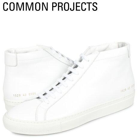 コモンプロジェクト Common Projects アキレス ミッド スニーカー メンズ ACHILLES MID ホワイト 白 1529-0506 [予約商品 10/18頃入荷予定 新入荷]