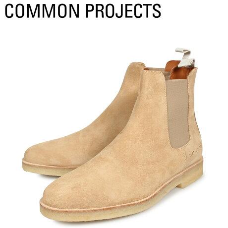 コモンプロジェクト Common Projects サイドゴア チェルシーブーツ メンズ CHELSEA BOOT IN SUEDE ブラウン 2167-1302 [予約商品 10/18頃入荷予定 新入荷]