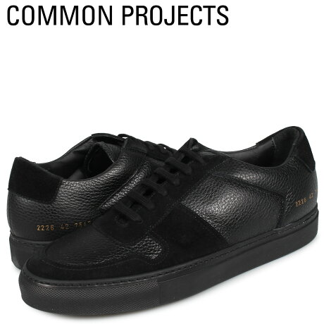 コモンプロジェクト Common Projects ビーボール ロー プレミアム スニーカー メンズ BBALL LOW PREMIUM ブラック 黒 2226-7547 [予約商品 10/18頃入荷予定 新入荷]