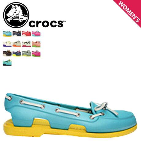 クロックス crocs レディース サンダル デッキシューズ ビーチライン BEACH LINE BOAT SHOE 14261 海外正規品