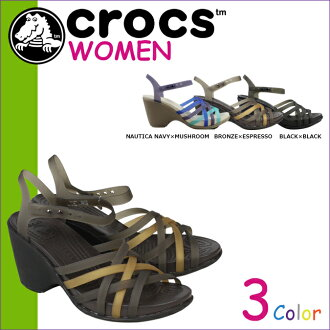 10 x 點 Crocs 卡駱馳鞋女子華萊士涼鞋楔楔涼鞋革條幫平底涼鞋楔 W 交叉光 15 392 3 顏色