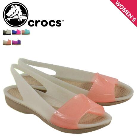 クロックス crocs レディース サンダル パンプス COLORBLOCK FLAT W 200032 海外正規品