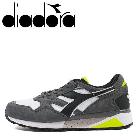 ディアドラ Diadora ニュートラ 9002 スニーカー メンズ N9002 グレー 173073-4400 [予約商品 10/11頃入荷予定 新入荷]