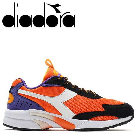 ディアドラ Diadora ディスタンス 280 スニーカー メンズ DISTANCE 280 オレンジ 175099-0051 [予約商品 10/11頃入荷予定 新入荷]