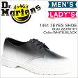 ドクターマーチン 3ホール 1461 レディース Dr.Martens オックスフォード CORE PRINT FO 3 EYE SHOE 22390101 メンズ ホワイト [4/3 新入荷]